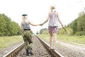 Female friendship — Stock Photo