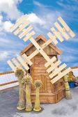 Moinho de vento — Fotografia Stock