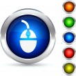 Royalty-Free Stock Vector Image: Mouse button.