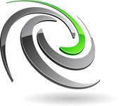 Símbolo de la empresa. — Vector de stock