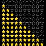 Rating stars. — Stock Vector