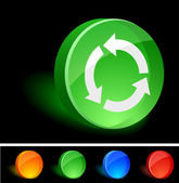 Recycle Icon. — Vector de stock