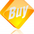 Royalty-Free Stock Vector Image: Buy button.