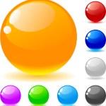 palle lucidi — Vettoriale Stock  #2752830