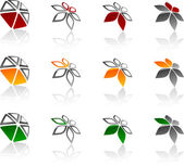 Set of Company symbols. — Stock Vector