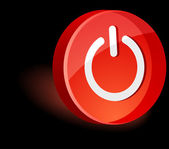 Символ выключателя. — Cтоковый вектор