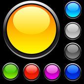 Web buttons. — Stock Vector