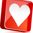 Love Icon. - Stock Vector