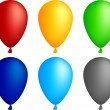 Royalty-Free Stock Vector Image: Balloons.