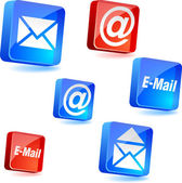 E-mail icons. — Stock Vector