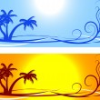 Summer backgrounds. — Stock Vector