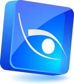 Eye Icon. — Stock Vector