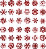 Snowflakes. [Vector]. — Stock Vector