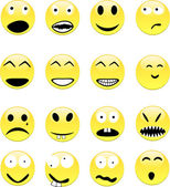 Smileys. [Vector] — Stock Vector
