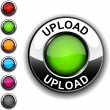 Upload  button. — Stock Vector