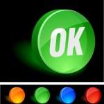 OK Icon. — Stock Vector