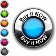 Buy it now button. — Stock Vector