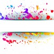 Colorful grunge background. - Stock Vector