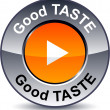 Royalty-Free Stock Vector Image: Good taste round button.