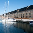 Royalty-Free Stock Photo: Yachts on a canal in Copenhagen