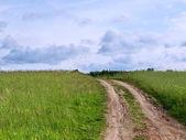 Road to sky — Stock Photo
