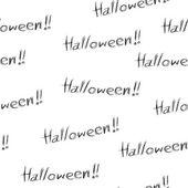 Halloween inconsútil — Vector de stock