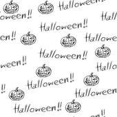 Arrière-plan transparent halloween — Vecteur