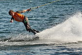 Wakeboard: Wassersportger — Stock Photo