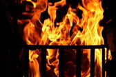 Fire basket — Stock Photo