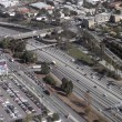 Stock Photo: LFreeway from overhead