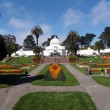 Stock Photo: Conservatory of flowers