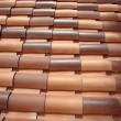 Stock Photo: Spanish Roof Tile