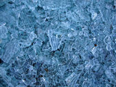 Pattern of broken glass — Stock Photo