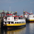 Two Casco Bay Ferries — Stock Photo