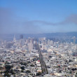 San Francisco Cityscape looking down market street — Stock Photo #3723998
