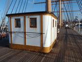 Balíček c.a thayer v sanfranciské námořní národní historie — Stock fotografie