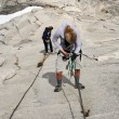 Stock Photo: Half Dome Summit, Yosemite