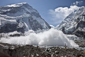 Everest Avalanche — Stock Photo