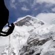 Stock Photo: Mt Everest West Ridge