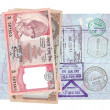 Nepalese rupee — Stock Photo
