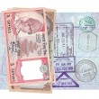 Stock Photo: Nepalese rupee