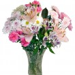 Bouquet of flowers - Romance — Stock Photo