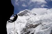 Mt Everest West Ridge — Stock Photo