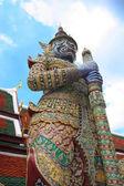 Grand Palace Guard - Bangkok — Stock Photo