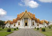 Marble Temple - Bangkok — Stock Photo