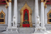 Marble Temple - Bangkok — Stock Photo