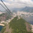Brazil's Sugarloaf Mountain — Stock fotografie