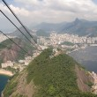 Brazil's Sugarloaf Mountain - Stock Photo