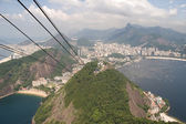 Brazil's Sugarloaf Mountain — Стоковое фото
