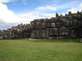 Ancient Sacsayhuaman — Stock Photo